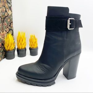 "GX by Gwen Stefani Black 4"" Heel Booties 7.5"